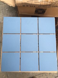 Free Blue Tiles 100 x 100 and 25x25