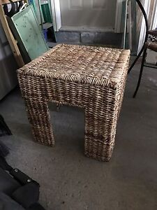 Pier One Rattan Table