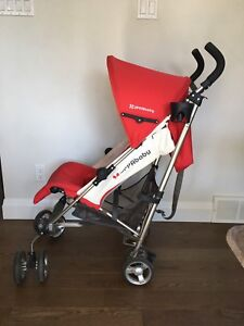 Uppababy g luxe in red