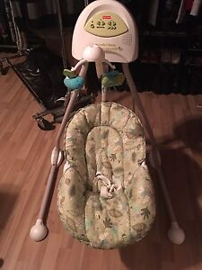 Fisher price swing.  40$! if buyer comes June 27