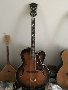 Aria Pro II Archtop Jazz Guitar FA71