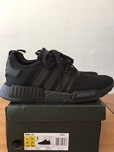 Adidas NMD R1 Triple Black US11/UK10.5 Brand-new in box Elwood Port Phillip Preview