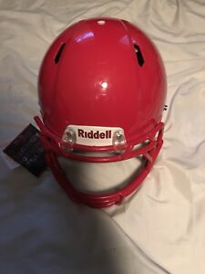 Riddel Speed Football Helmet Red