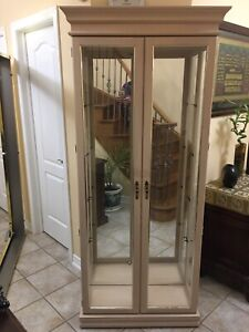 Brandnew Display cabinets,Desk,corner curio,ottoman