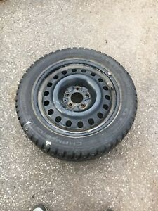 Honda Accord rims with winter tires 215/55R17 studded