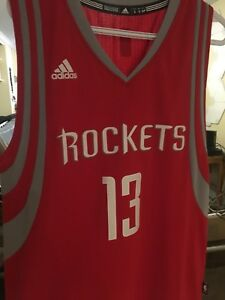 James Harden Houston Rockets Adidas Basketball Jersey