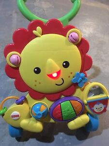 Lion walker toy