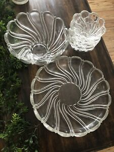 Glass Serving Set