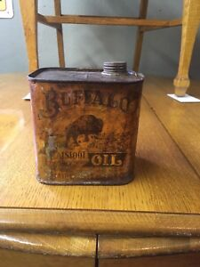 Rare oil cans at Penns Antiques