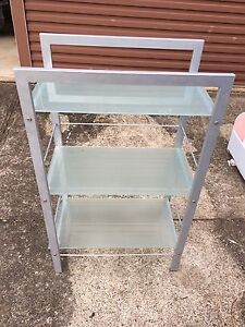 Glass metal shelf Gladesville Ryde Area Preview