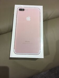 iPhone 7plus brand new 32gb rose gold unlock sealed in the box Prospect Prospect Area Preview