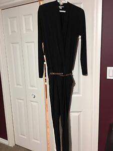 Michael Kors black jump suit