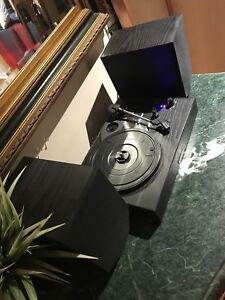 Cheap Vinyl Player with Bluetooth Audio $60