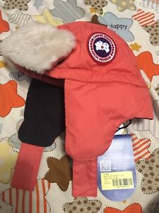 Canada goose hat for kids 2-5y