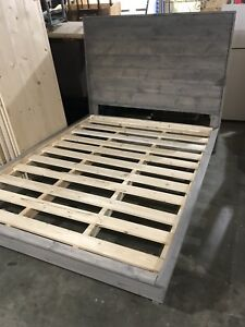 New Queen Bed Frame *ready to go-save $50!*