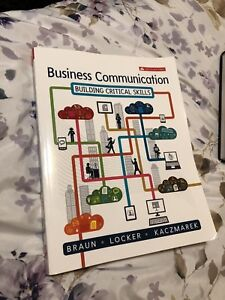Brand new business communication textbook