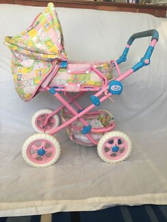 Baby Born Pram, Doll, Clothes and Accessories