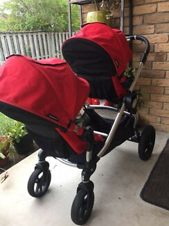 Baby Jogger City Select Double Pram Ruby
