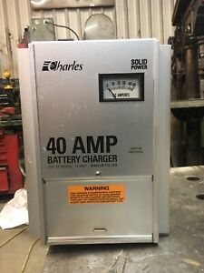 Chargeur batterie marin