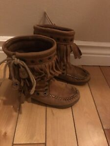 Girls Zara boots fit sz 7/8