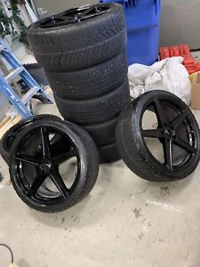 Roues mags 20'´ Fast Wheels 5 x 120