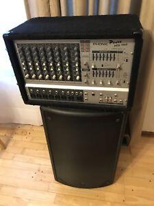Amp.  Speaker