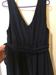 Knee length maternity dress, size XL, taille TG