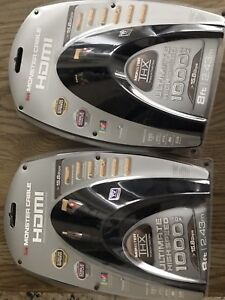 High Speed Monster HDMI cables
