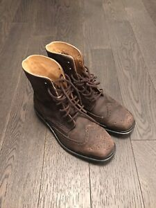 Blundstone Chisel Toe Laced-up  - Brown Size 8.5