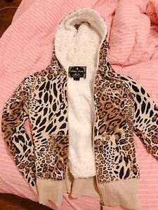 Guess Leopard hoodie size small