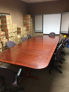 Magnificent Conference Room Table Kijiji In Toronto Gta Buy Sell Interior Design Ideas Philsoteloinfo