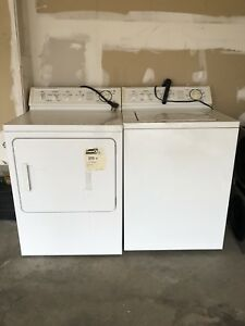 Super Capacity / Heavy Duty Washer & Dryer