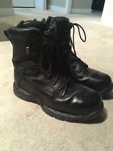 Tactical safety toe boots