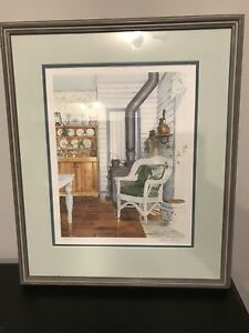 Limited edition Laura Berry Family Treasures Painting