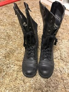 "b3f756f264c Women s Black ""Leather"" Boots"