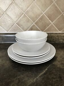 Dinner plates side plates and bowls stoneware set & Ikea Plates   Buy or Sell Kitchen \u0026 Dining in Toronto (GTA)   Kijiji ...
