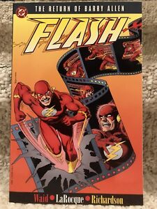 The Flash The Return Of Barry Allen Trade Paper Back