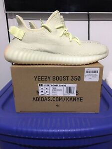 Adidas Yeezy Boost 350 Butter DS New In Box Sz 10