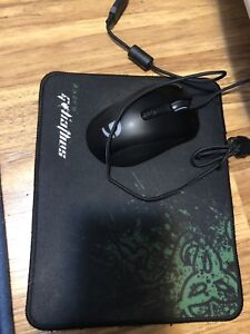 fulen gaming mouse and mouse pad
