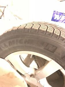 4 winter tire with 4 mags