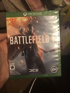 Battlefield 1 sealed XBOX ONE