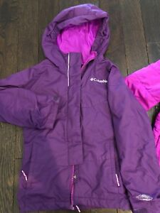 New Columbia 3in1 girls winter coat sz xs