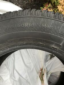 Winter snow tires with studs  x4