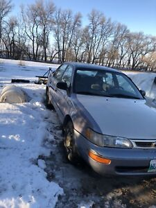1997 Toyota Corolla DX 1.8L *safetied*