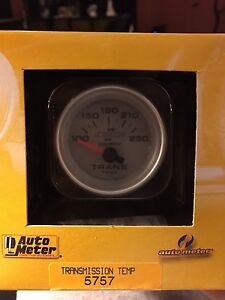 Auto meter 2 5/8 inch electric trans temp gauge