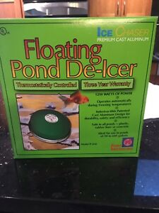 Pond de-icer brand new in box