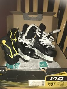 Bauer Youth Skates Size 7 Boys