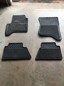 Rubber floor mats for 2015 sierra