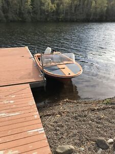 55 hp Evinrude boat and trailer MAKE AN OFFER