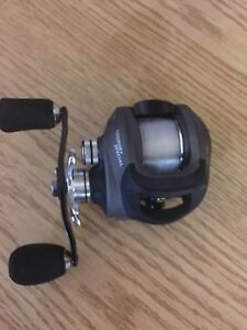Never used bass fishing rod and reel